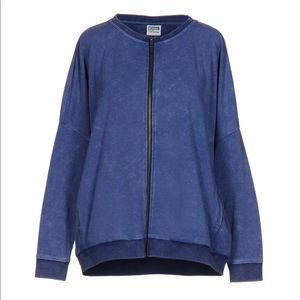 NEW • Freddy • Felpa Zip Up Sweatshirt Blue Large